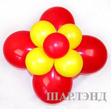 Оформление витрины воздушными шариками на хэллоуин (ШДМ) аэродизайн, оформление зала воздушными шарами