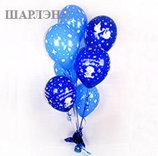 Оформление ТЦ на хэллоуин из серии больших игрушек из воздушных шаров (ШДМ) аэродизайн