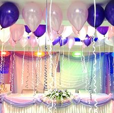 Украшение романтического свидания воздушными шарами (признание в любви) (ШДМ) аэродизайн, оформление воздушными шарами